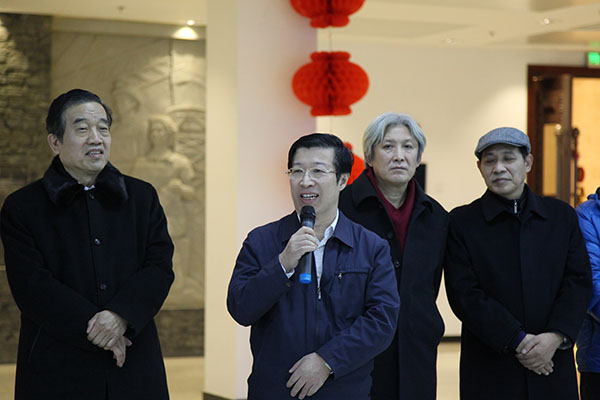 全国总工会宣教部部长王晓峰致辞